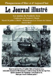 Conférence par Norbert L'Hostis : Les mutins du Foederis Arca @ Médiathèque Les Trésors de Tolente